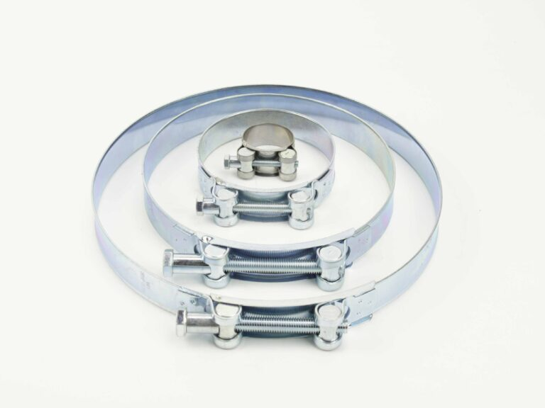 Stainless steel hose clamps GBS W1