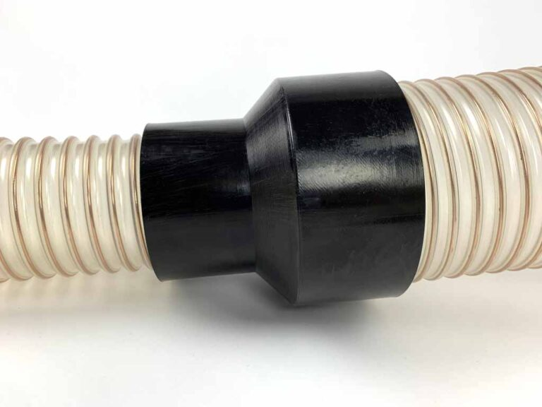 KUDO polyurethane reducers for industrial hoses