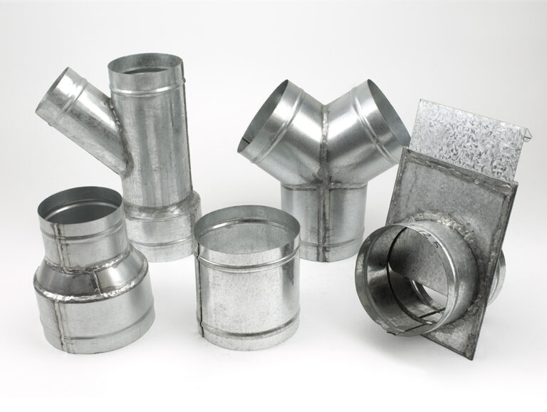 Galvanized connectors, reductions, tees – made for a special request