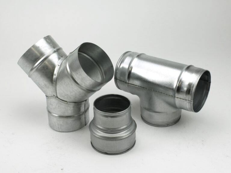 STANDARD reductions, connecting pieces, tees – made of galvanized steel
